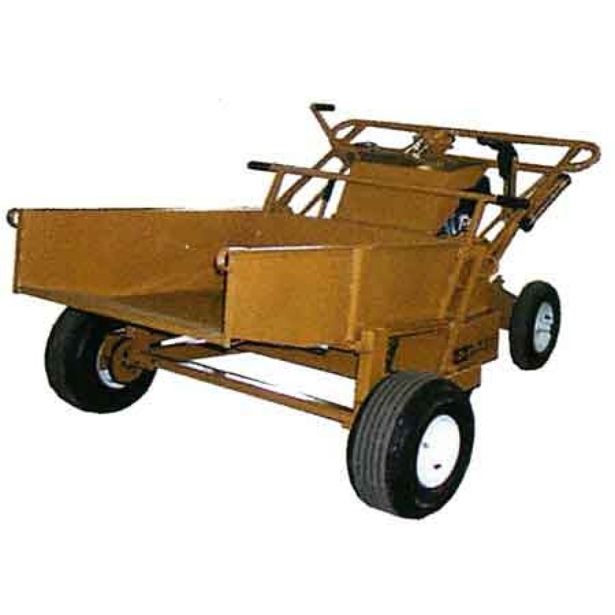 Ase Hydraulic Stand On Power Buggy With Hydraulic Dump