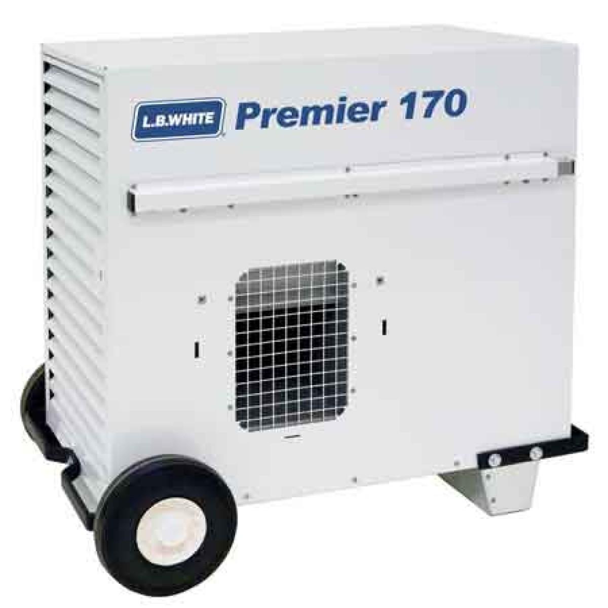 Lb White Premier 170 Df Lp Ng Dual Fuel Tent Heater 170 000