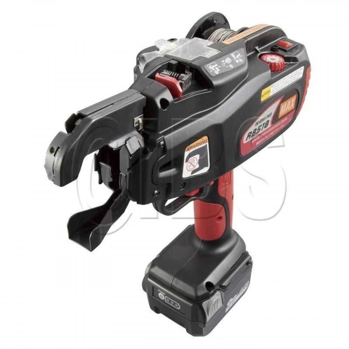 31e039a3dd05 ... Max USA Rebar-Tier RB518 Cordless Rebar Tying Tool ...