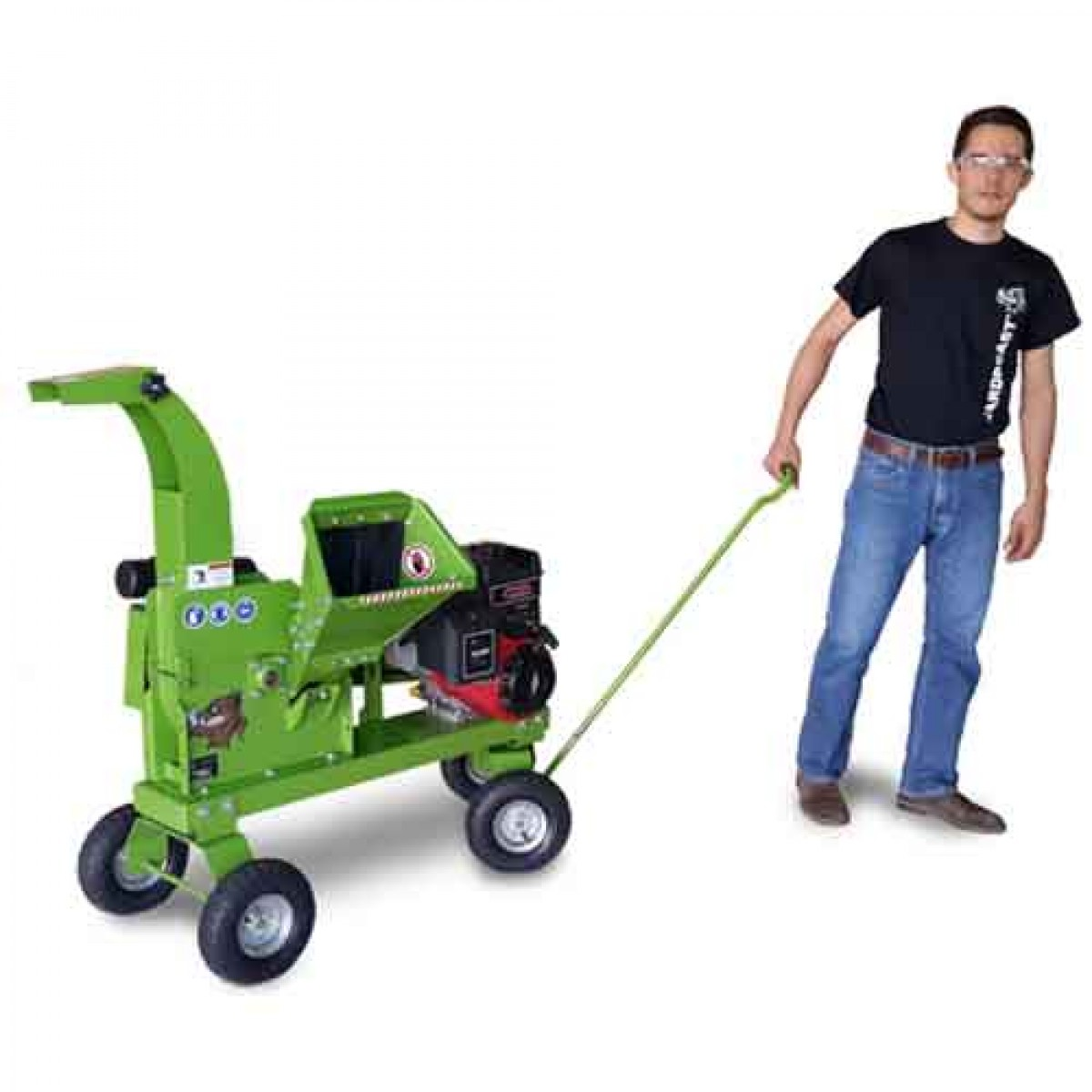 Yardbeast 2510 | Professional Wood Chipper | ConstructionComplete