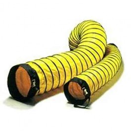 """Schaefer Ventilation Americ Confined Space Ventilator Accessory 8"""" x 25' Duct with Cinch Strap AM-DS0825"""
