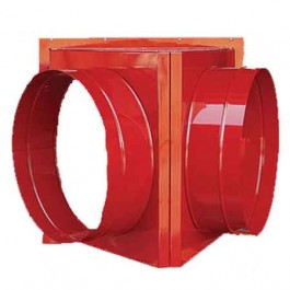 """Cantherm 12"""" Two Way Duct Adapter"""