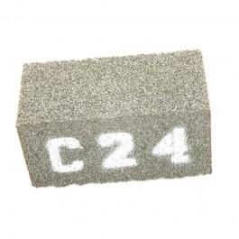 Pack of 3 Medium Grade C24 Grinding Stones for SG24 Grinder by General Equipment