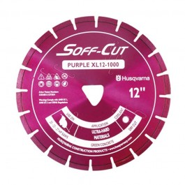 "Husqvarna 13.5"" 1000 Purple Series Soff-Cut Saw Blade-542756112"