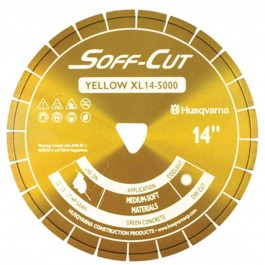 "Husqvarna 13.5"" 5000 Yellow Series Soff-Cut Saw Blade-542756116"