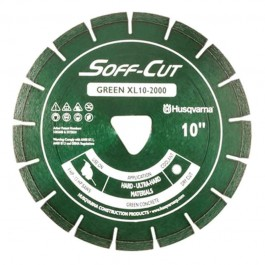 "Husqvarna 14"" 2000 Green Series Soff-Cut Saw Blade-542756173"