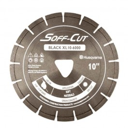 "Husqvarna 14"" 6000 Black Series Soff-Cut Saw Blade-542756175"