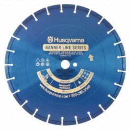 "Husqvarna 14"" Premium Banner Line Blue 1BLM MS Saw Blade 542751032"