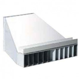 """LB White 26350 End Diffuser For 12"""" Duct"""