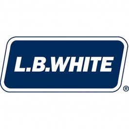 LB White 30161 Steel Exhaust Pipe Extension