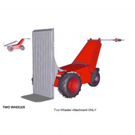 Two Wheeler Transport Bed Attachment for Power Pusher E-750 Electric Wheelbarrow by NuStar