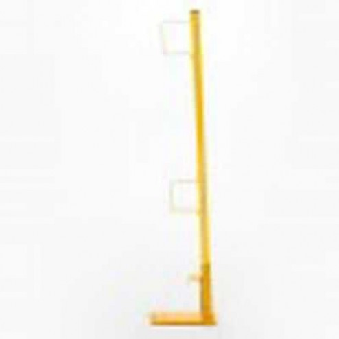 Acro Building Systems Steel Wall Scaffold Post Guardrail Holder 12022