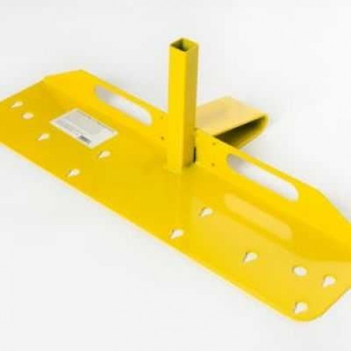 Acro Building Systems Open Edge Guardrail Bracket Only 12075B