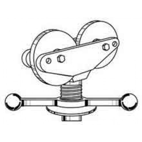 Sumner 780378 Hi Heavy Duty Jack with Stainless Steel Roller
