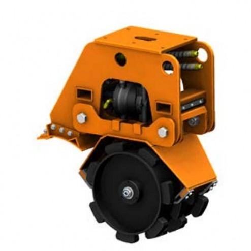 "MBW 18PF EXA18 18"" Heavy Flat Top Compaction Wheel"