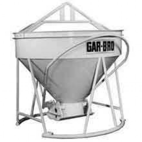 3 Yard Steel Concrete Bucket 483-R by Gar-Bro