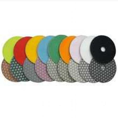 """Diteq 4"""" Premium Dry Polishing Pads"""