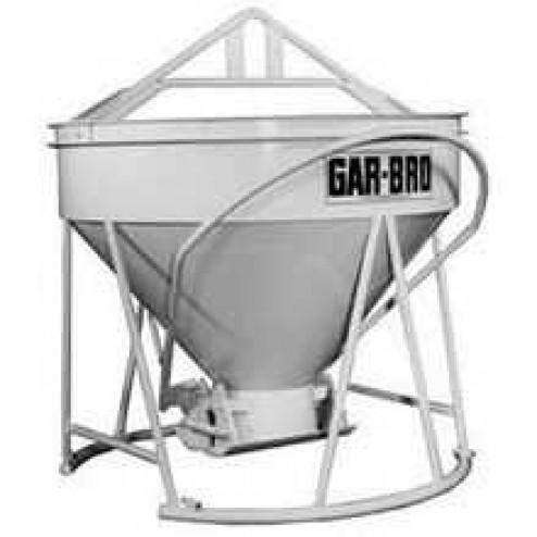 3/4 Yard Steel Concrete Bucket 420-R by Gar-Bro