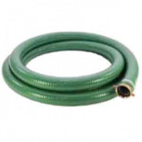 """20ft Long 6"""" Water Suction Hose by Abbott Rubber"""