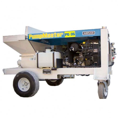 AirPlaco 35HP PumpMaster PG-35 Grout Pump