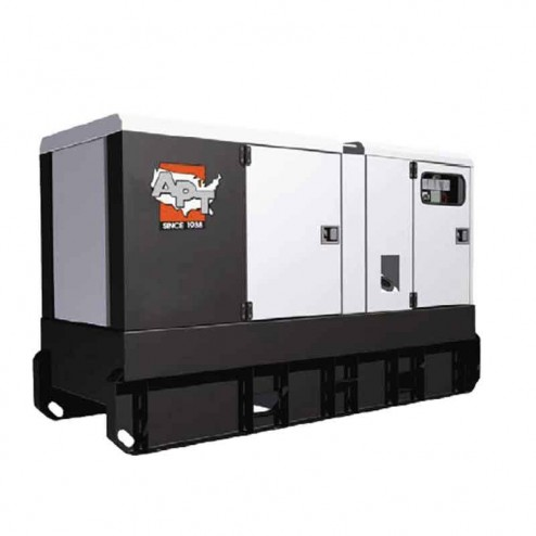 95 kW Portable Generator APTG120 by APT ON TRAILER