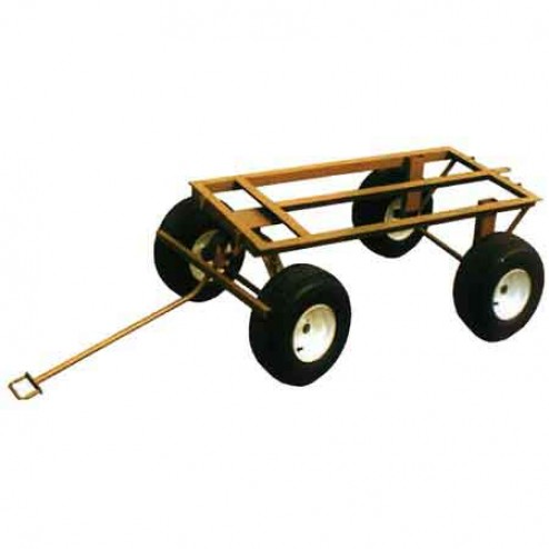 ASE 4-Wheel Trailer with Flat-Free Wheels