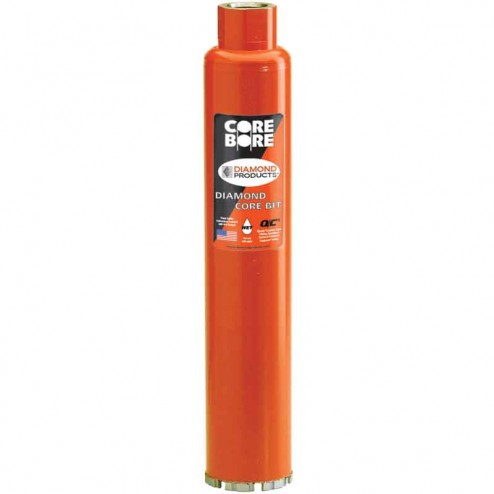 "Diamond Products Heavy Duty Orange Wet Core Bit 3-1/2""-00006"
