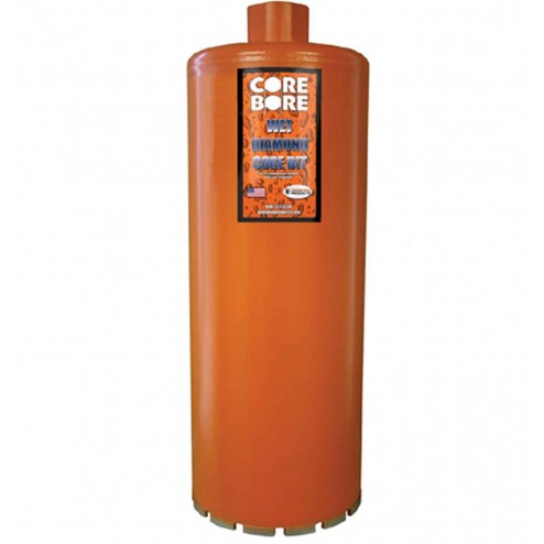 "Diamond Products Heavy Duty Orange Wet Core Bit 12""-04853"