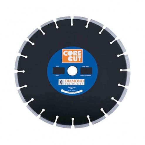 "Diamond Products Premium Black P 18"" Wet Blade-08381"