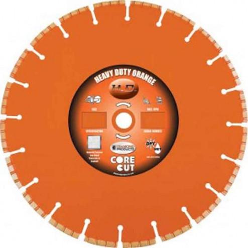 "Diamond Products Heavy Duty Orange H 42"" Wet Blade-07918"