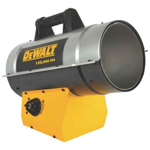 DeWalt Forced Air Propane Heater DXH150FAV