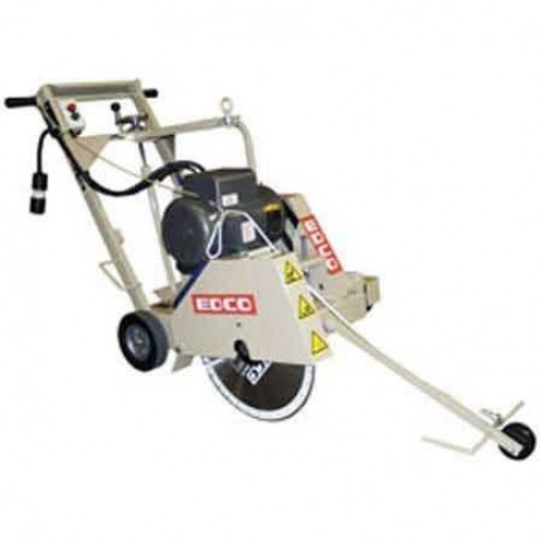 EDCO DS-18 18 inch 5HP-1P Electric Push Concrete Flat Saw 37300