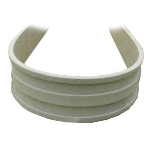 """8"""" Poly Plastic Flexible Concrete Form FF812 SET 120ft"""