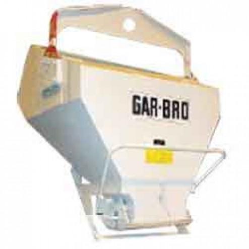4 Yard Laydown Concrete Bucket 4126-L by Gar-Bro