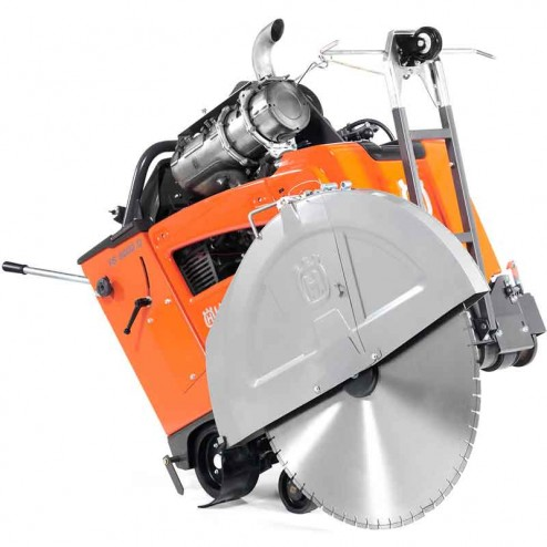 """Husqvarna FS5000-D 36"""" with E-Tracking and Blade Clutch Concrete Flat Saw- 967207321"""