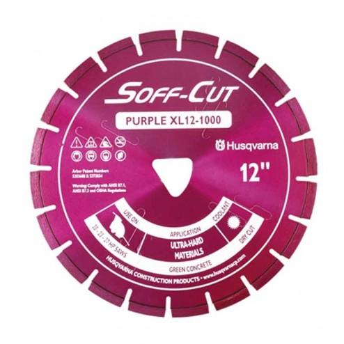 """Husqvarna 13.5"""" 1000 Purple Series Soff-Cut Saw Blade-542756112"""