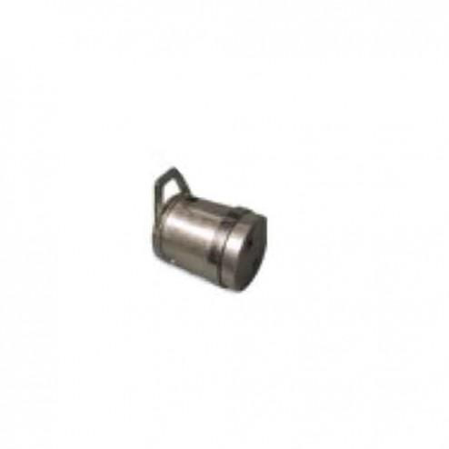"Lura 6"" Wall Plug with Riser Wheel LEAWP11"