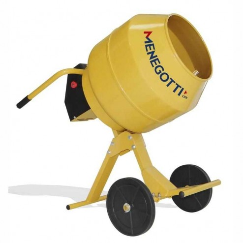Menegotti 5 Cubic Foot Electric Concrete Mixer