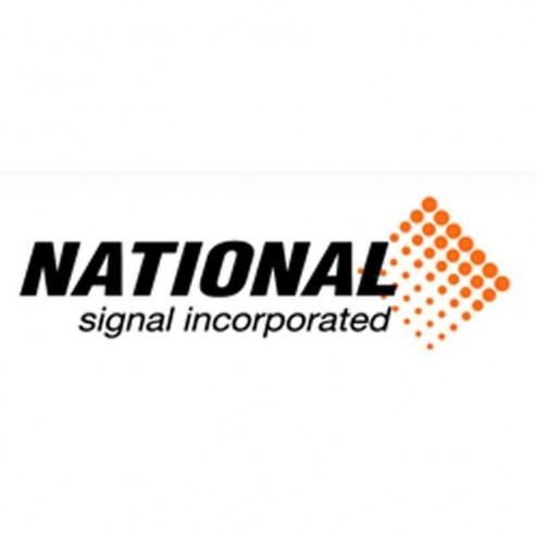 "National Signal 3"" Lunette Eye, 8"" Adjustable Hitch"