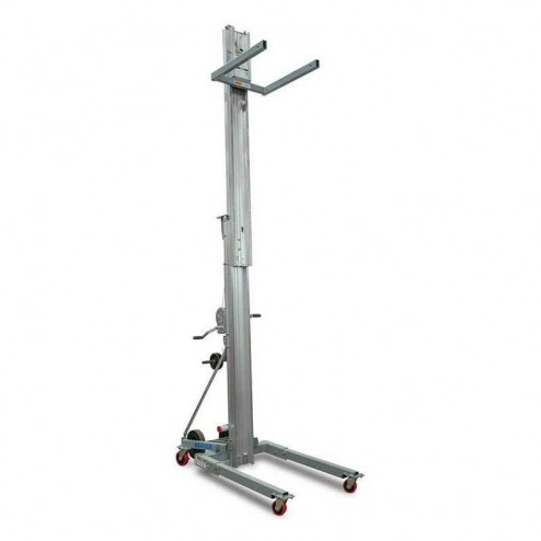 Genie SLC-18 SuperLift Contractor 18 ft Material Lift w/Stabilizer set