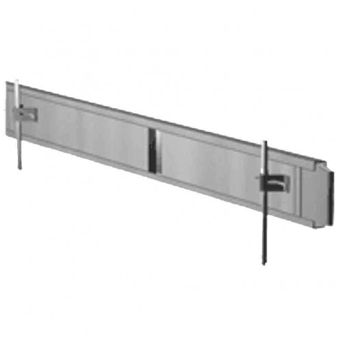 """Dee Concrete 6""""X 10 ft Steel Straight Concrete Form 205-6"""