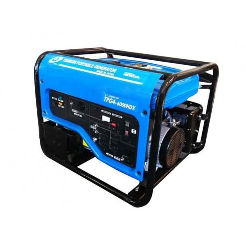 Tsurumi Engine Driven Generators TPG4-6000HDX