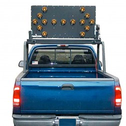 Trafcon Industries MB4-13 Vehicle Mount Arrow Board (PAR 36 LED Lamps)