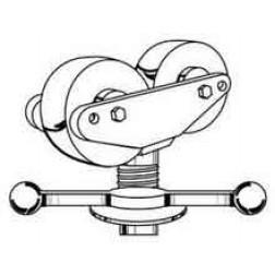 Sumner 780381 Hi Heavy Duty Jack with Rubber Wheels