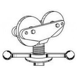 Sumner 781301 Hi Fold-a-Jack with Roller Head