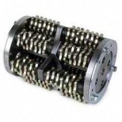 """MK Diamond 8"""" 12 Point Steel Blunt Tooth SG-9 Scarifier Drum"""