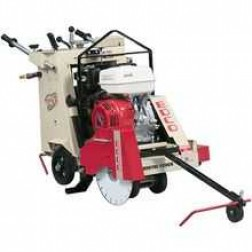 EDCO SS-20 25HP Kohler Propane Self Propelled Walk Behind Concrete Saw