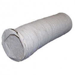 """Flagro THCP-WD12 12"""" x 10' White Duct (THC-85&175)"""