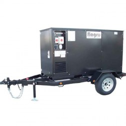 Flagro FVNP-750TR Self Contained Trailer w/FVPN-750 Indirect Fired Heater