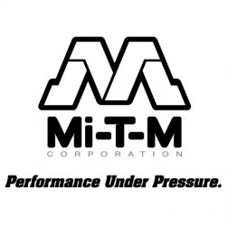 Mi-T-M 68-4007 25-ft x 12 in black flexible air ducting (maximum size)